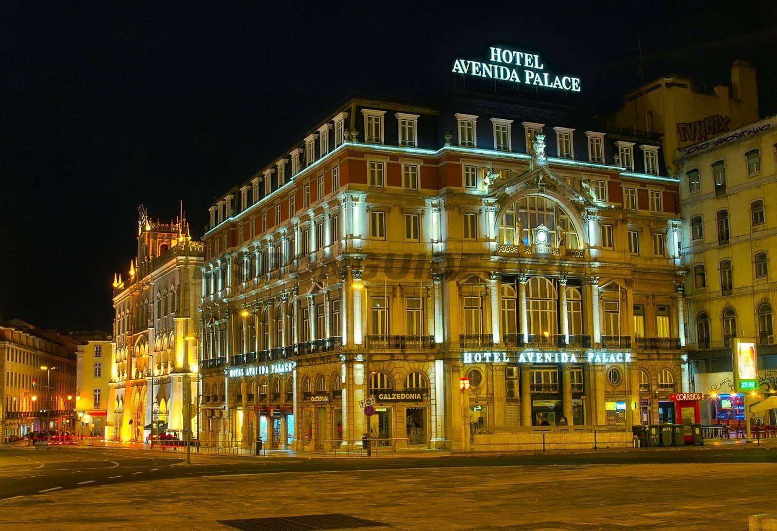Avenida Palace Hotel on Neoclassical Engineering