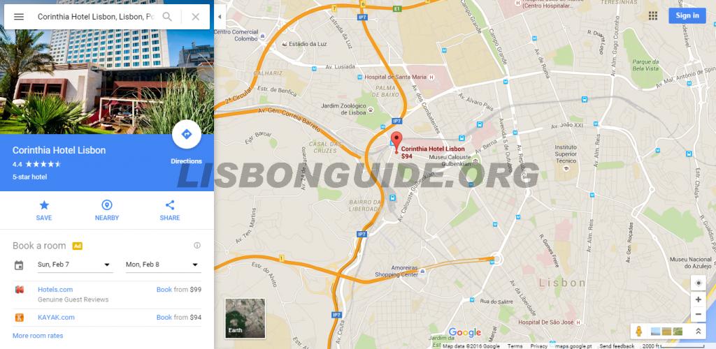 Corinthia_Hotel_Lisbon_Address_Location_Map