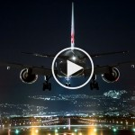 Amazing HD Video: Landing in Lisbon – Cockpit Pilot View Flight Airport Aproach