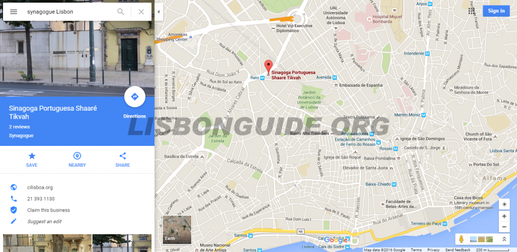Lisbon_Synagogue_Map_Address