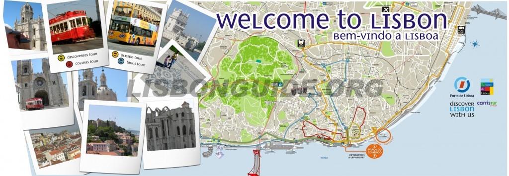 Lisbon Free Map Updated 2018 Best Lisbon Travel Guide