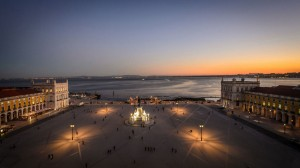 Lisbon_Viewpoint_River_Sunset